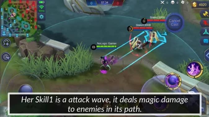 Mobile Legends Lylia Skill 1