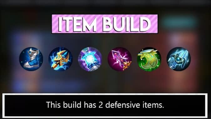2 defensive items