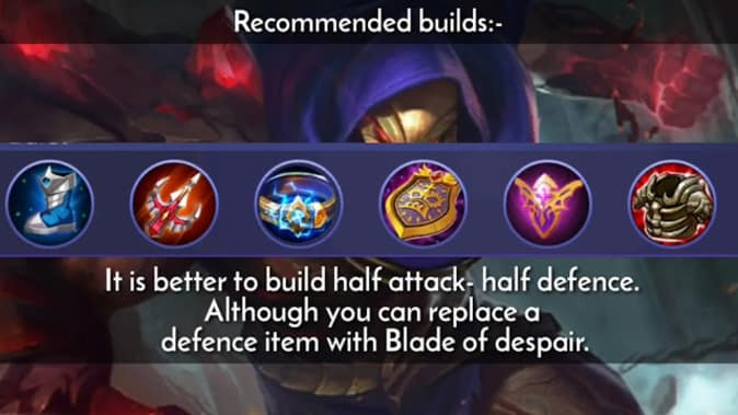 Mobile Legends Aldous Builds & Emblems
