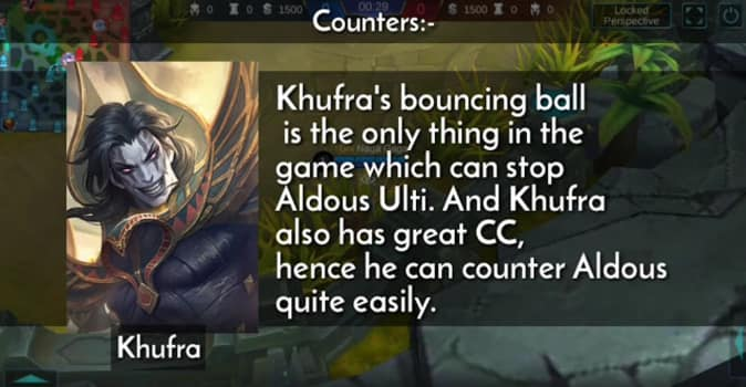 Mobile Legends Aldous Counters