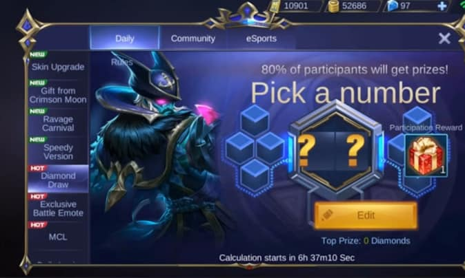 MOBILE LEGENDS DIAMOND Hack 2021 Win Fast/Free 10k Gold