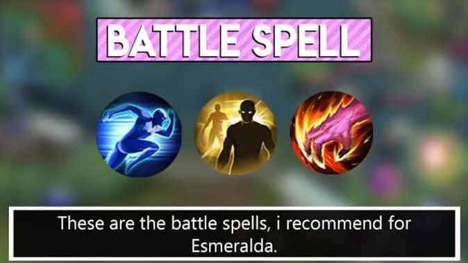 Mobile Legends Esmeralda Battle Spell