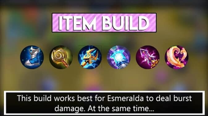 Mobile Legends Esmeralda Item Build