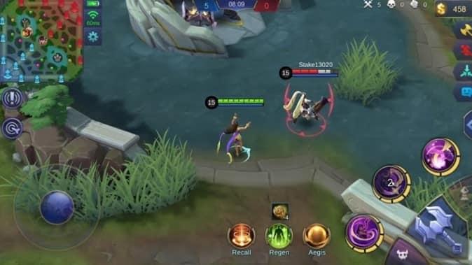 Mobile LegendsEsmeralda Skill 1 Frostmoon Shield