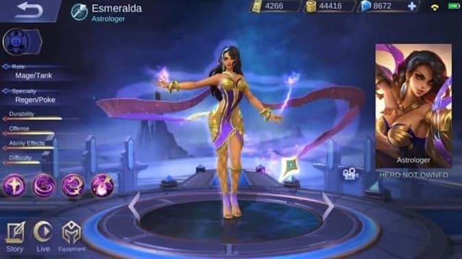 Mobile Legends Esmeralda
