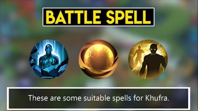 Mobile Legends Khufra Battle Spell