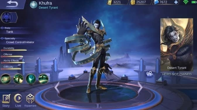 Mobile Legends Khufra