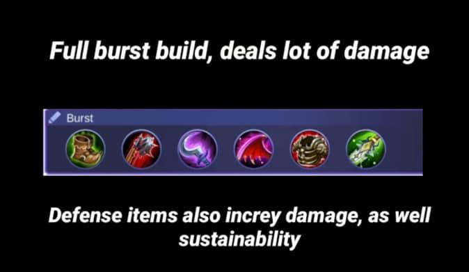 Mobile Legends X Borg Recommend Build 2