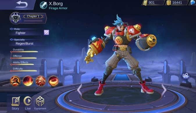 Mobile Legends X Borg Guide 2021 | X borg Best Build 2021