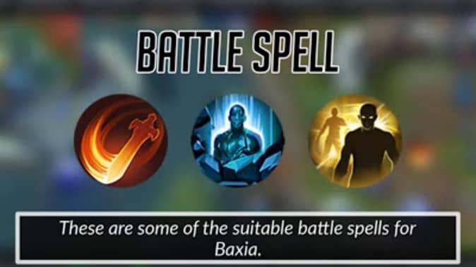 Mobile Legends Baxia Battle Spells