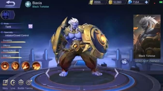 Mobile Legends Baxia