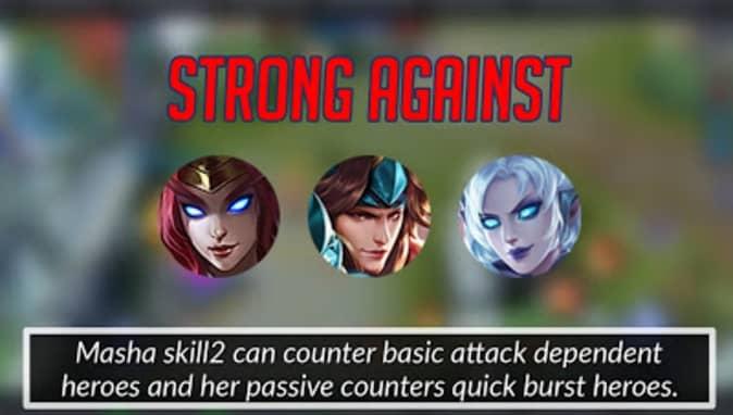 Mobile Legends Masha Strong Against