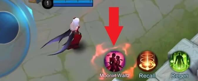 Mobile Legends Cecilion Special skill – Moonlit Waltz