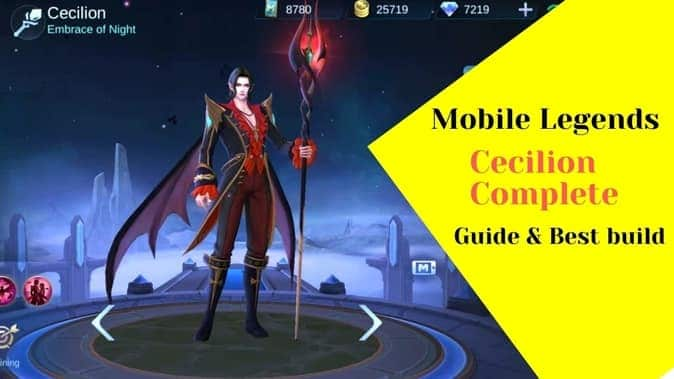 Mobile Legends Cecilion