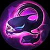 Mobile Legends Selena Skill 1 - Abyssal Trap (ELVEN FORM)