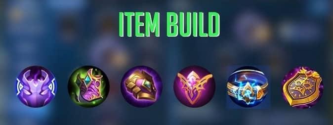 Mobile legends Atlas Item Build