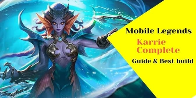 Mobile legends Karrie build