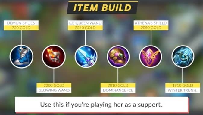 Mobile legends Luo Yi Item Build3