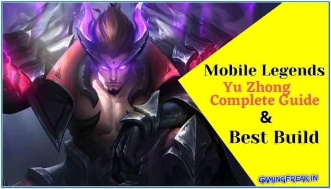 Mobile Legends Yu Zhong Guide