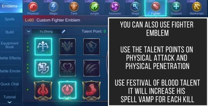 YOU CAN ALSO USE FIGHTER EMBLEM