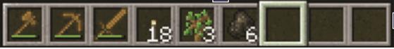 Minecraft Hot Bar