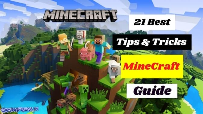 Minecraft Tips and Tricks 2021 | Minecraft Beginners Guide 2021 | Best Survival Tips
