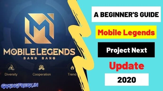 A Beginner's Guide to Mobile Legends Project Next Update 2021