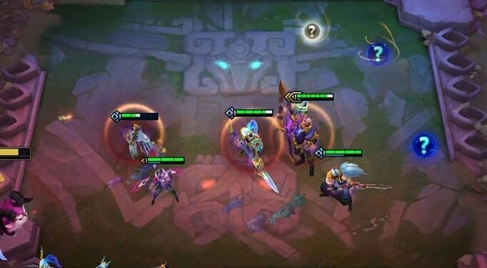 Arranging your comps in Teamfight Tactics Guide