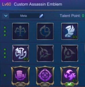 Miya Assassin Emblem