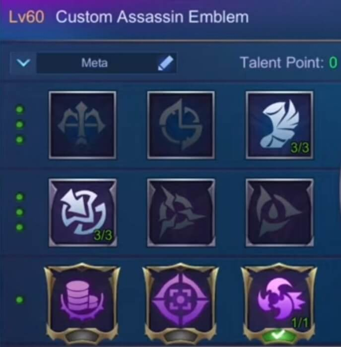 Miya Assassin Emblem