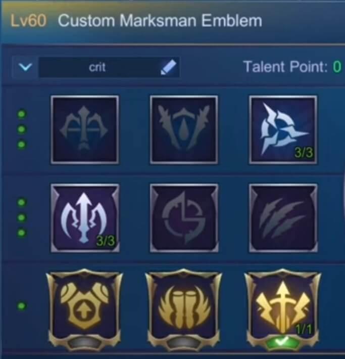 Miya Marksman Emblem