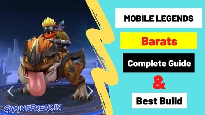 Mobile Legends Barats Complete Guide & Best Build