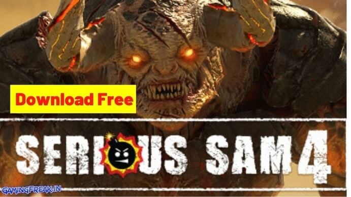 Serious Sam 4 Download Serious Sam 4 Free Full PC Version Download