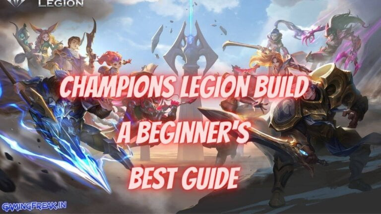 Champions Legion Build A Beginner's Best Guide 2020