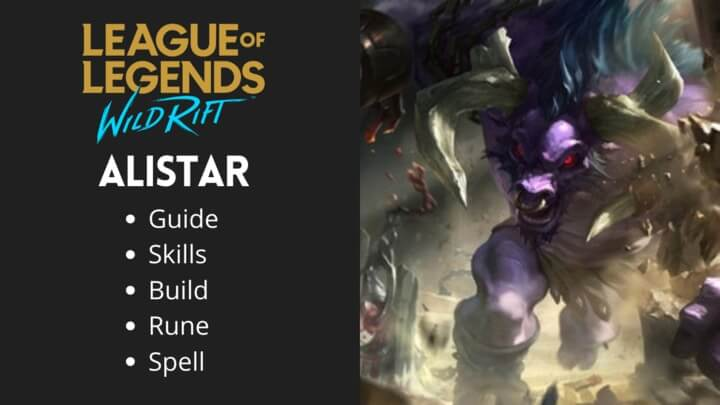 League of Legends Wild rift Alistar Guide Tutorial 2020