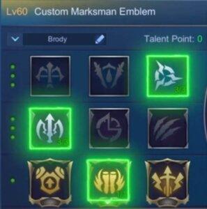 MLBB Brody Best Emblem
