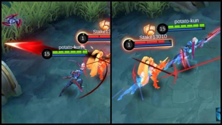 Revamped Saber 1st Skill Returning Swords