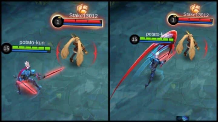 Revamped Saber 2nd Skill Enhanced Basic Attack