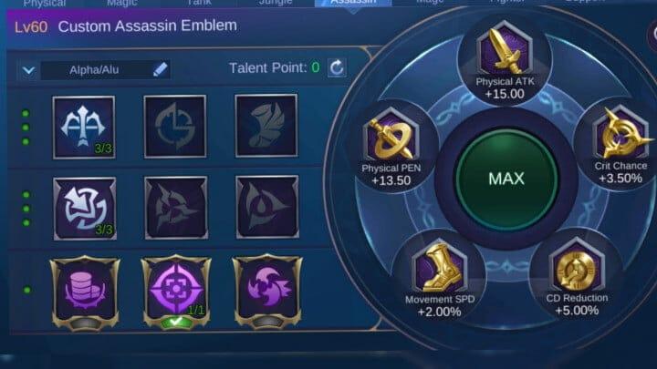 Revamped Saber Assassin Emblem
