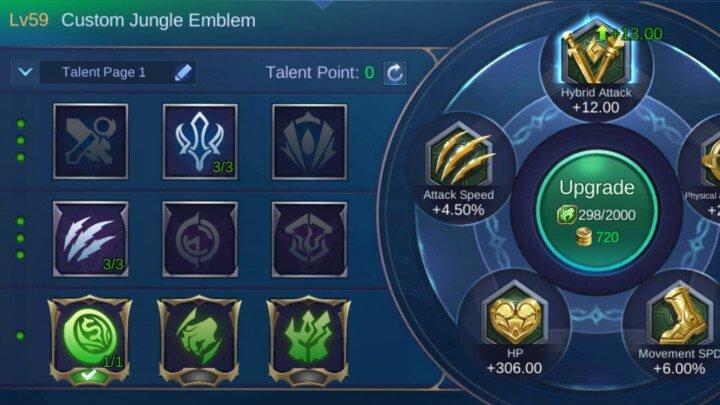 Revamped Saber Jungle Emblem