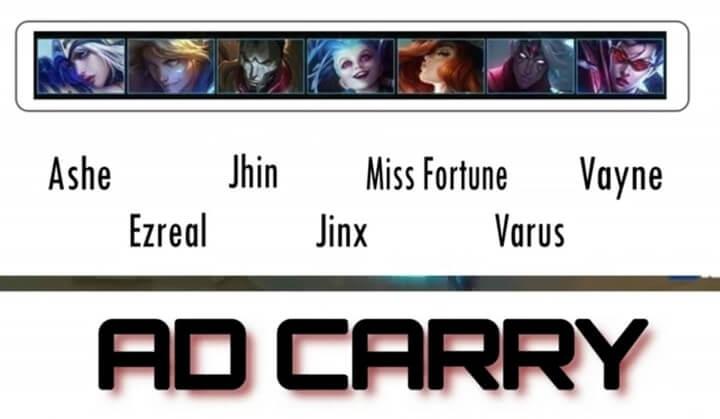 Wild Rift Ad carry lane