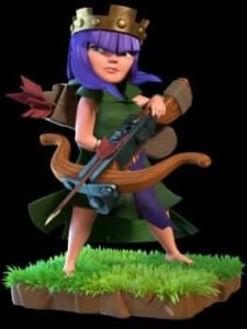 Clash of Clans th 9 queen