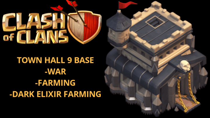 Best TH9 War Base 2021 (Download Working link) | Best TH9 War Base TH9 2021 Anti Everything