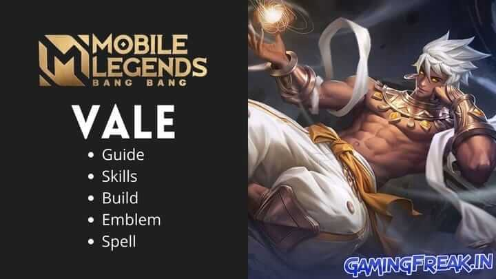 Mobile Legends Vale Guide 2021 | Vale Best Build 2021