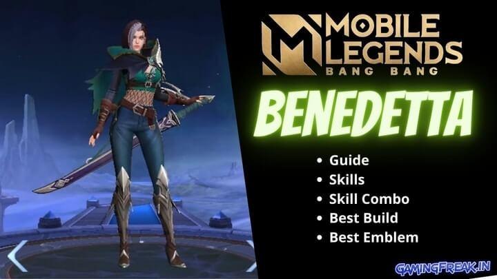Mobile Legends Benedetta Guide 2021 | Benedetta Best Build 2021