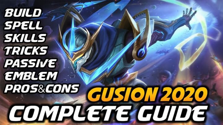 Mobile Legends Gusion Guide 2021 | Gusion Best Build 2021 | Gusion Emblem