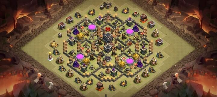 TH9 War Base 10