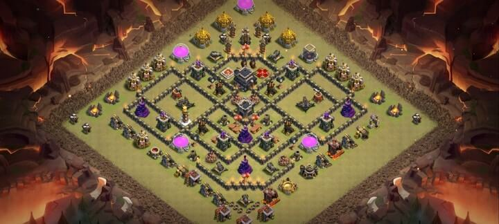 TH9 War Base 11
