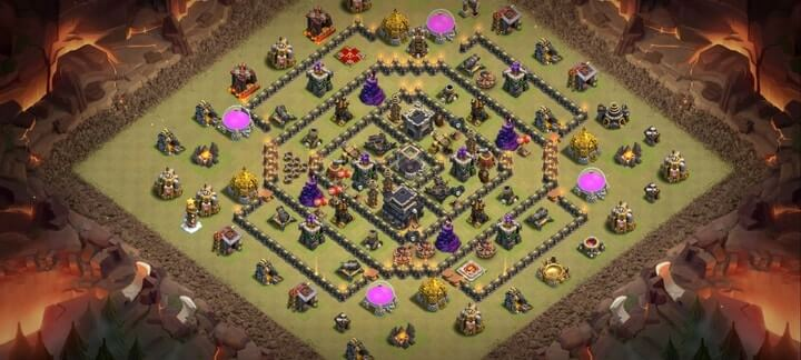 TH9 War Base 4