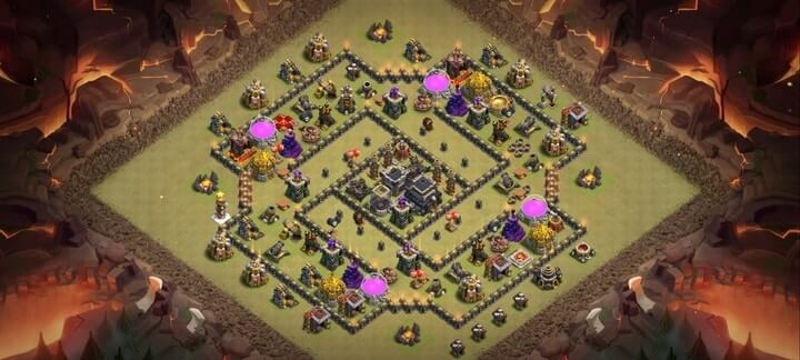 TH9 War Base 5